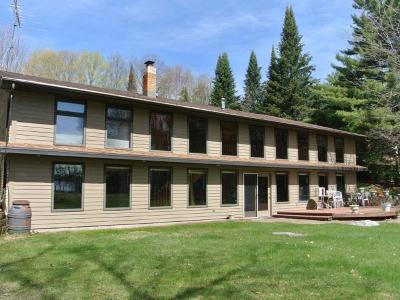 Three Lakes WI Single Family Home For Sale: $474,500