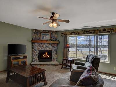 Forest County, Iron Wi County, Langlade County, Lincoln County, Oneida County, Vilas County Condo/Townhouse For Sale: 2012 Wild Eagle Ln #129