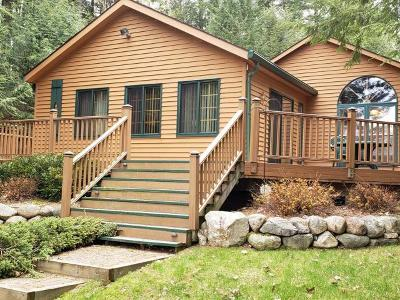 Langlade County, Forest County, Oneida County Single Family Home For Sale: 8292 Hemlock Ln