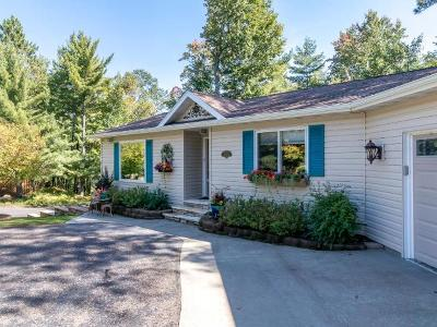 Minocqua Single Family Home For Sale: 9450 Country Club Rd