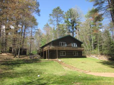 Eagle River Single Family Home Active Under Contract: 3663 Chain O Lakes Rd