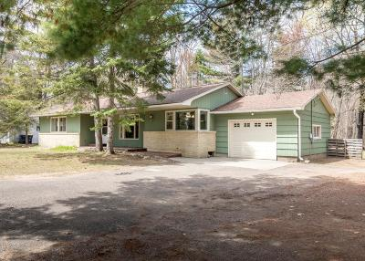 Minocqua Single Family Home Active Under Contract: 9620 Manitou Park Dr