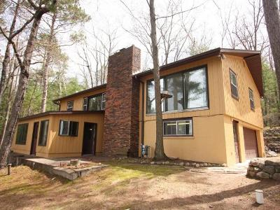 Langlade County, Forest County, Oneida County Single Family Home For Sale: 6850 Lake Mildred Rd