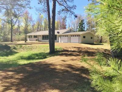 Sayner Single Family Home Active Under Contract: 2839 Hwy 155