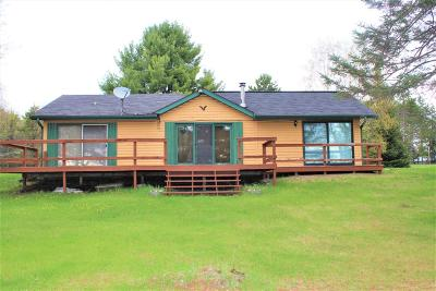 Langlade County, Forest County, Oneida County Single Family Home Active Under Contract: 1999 Schoettler Rd