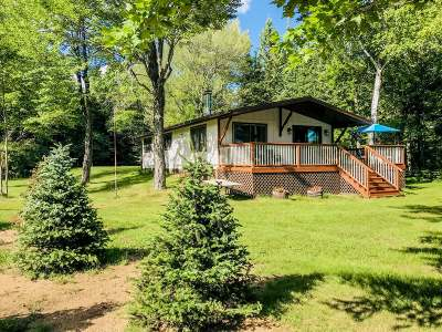 Langlade County, Forest County, Oneida County Single Family Home For Sale: 8619 Hwy 8