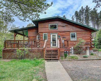 Tomahawk Single Family Home Active Under Contract: 2025 Woodsmoke Dr