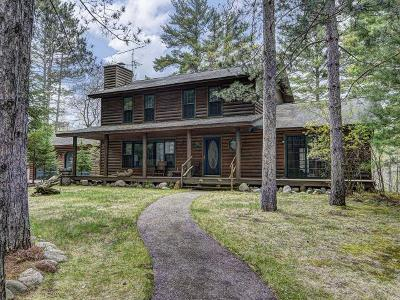 Minocqua Single Family Home For Sale: 8547 Camp Pinemere Rd