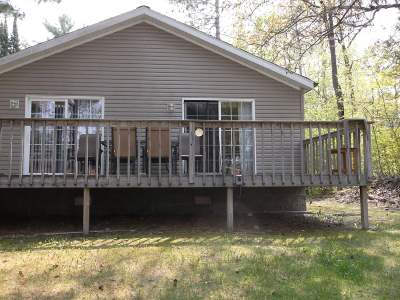 Langlade County, Forest County, Oneida County Single Family Home For Sale: 2823 Three Gs Dr #10