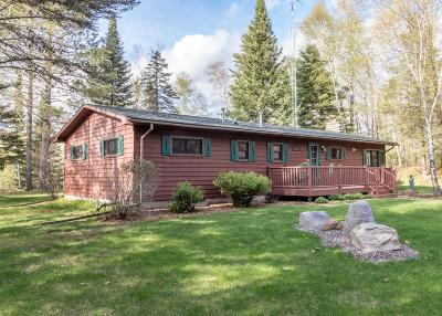 Manitowish Waters Single Family Home For Sale: 15029 Papoose Landing Rd