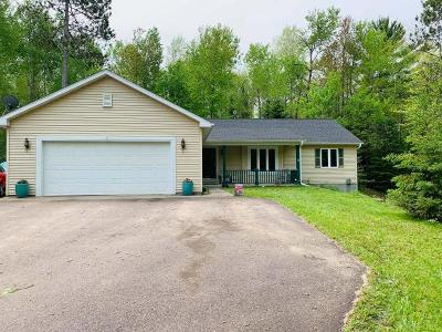 Langlade County, Forest County, Oneida County Single Family Home For Sale: 3147 Wildflower Bay Rd