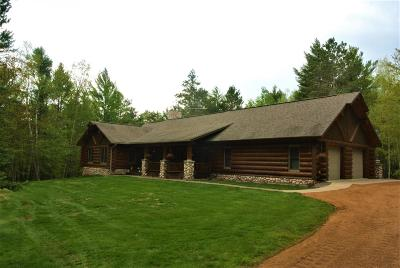 Minocqua Single Family Home Active Under Contract: 7507 Trailwood Dr