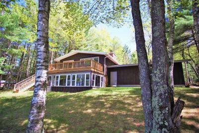 Eagle River Single Family Home For Sale: 7862 Chain Lake Rd