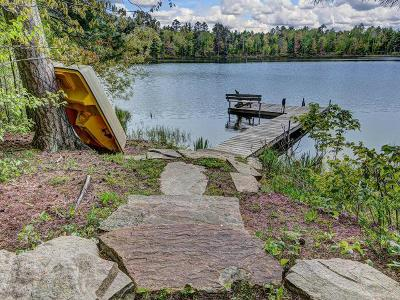 Lac Du Flambeau Single Family Home For Sale: 14887 Minette Lake Ln