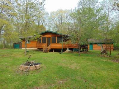 Minocqua Single Family Home Active Under Contract: 7671 Marie Ln