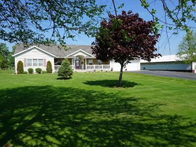 Merrill Single Family Home For Sale: N383 Hilltop Ln