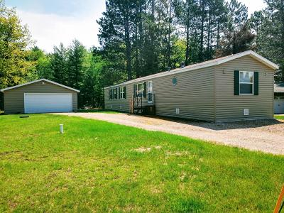Langlade County, Forest County, Oneida County Single Family Home Active Under Contract: 6450 Big Lake Loop Rd E