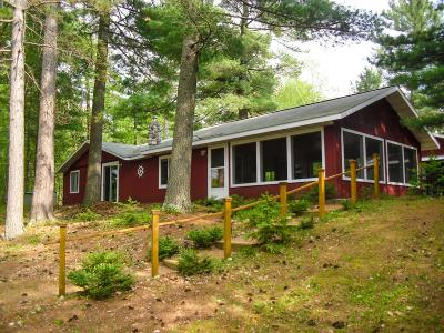 Tomahawk Single Family Home Active Under Contract: W7282 Loop Rd