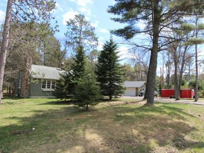 Minocqua Single Family Home For Sale: 7606 Hwy 51