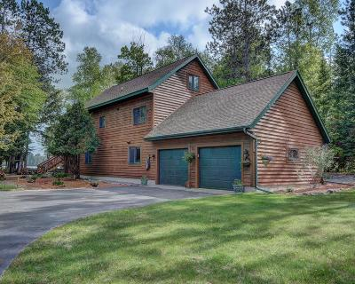 Langlade County, Forest County, Oneida County Single Family Home For Sale: 3364 Cth C