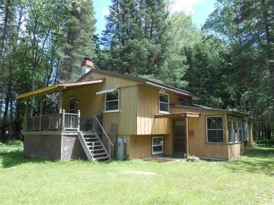Langlade County, Forest County, Oneida County Single Family Home For Sale: W8340 Sylvan Acres Rd N