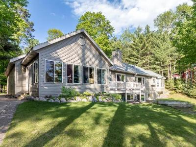Sayner Single Family Home For Sale: 8539 Shoreland Dr