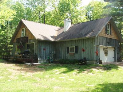 Park Falls Single Family Home For Sale: N15699 Evergreen Rd