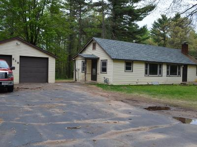 Tomahawk WI Single Family Home Active Under Contract: $119,900