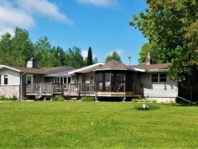 Fifield Single Family Home For Sale: N11453 Hwy 13
