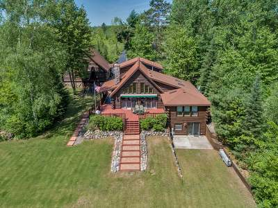 Langlade County, Forest County, Oneida County Single Family Home For Sale: 3116 Oneida Lake Rd