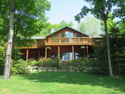 Manitowish Waters Single Family Home For Sale: 7019 Papoose Ln