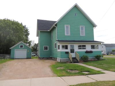 Antigo WI Single Family Home Active Under Contract: $64,900