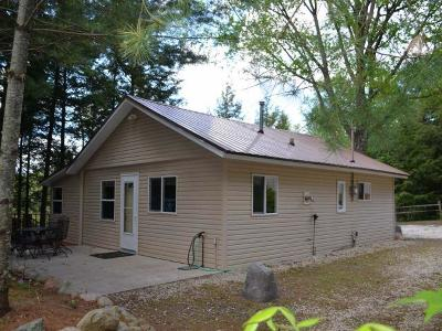 Gleason WI Single Family Home For Sale: $184,900
