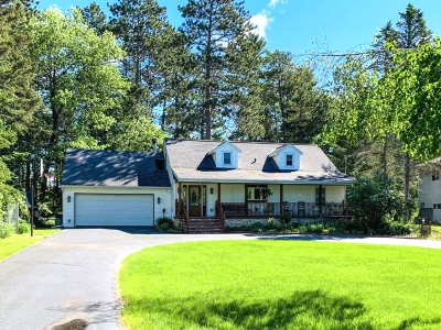 Tomahawk WI Single Family Home For Sale: $299,000