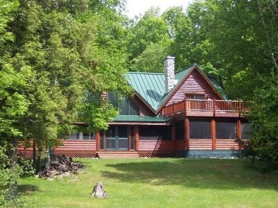 Langlade County, Forest County, Oneida County Single Family Home For Sale: 8411 Squaw Lake Ln S
