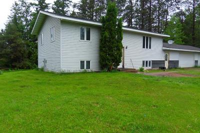 Gleason Single Family Home For Sale: W15068 River Rd