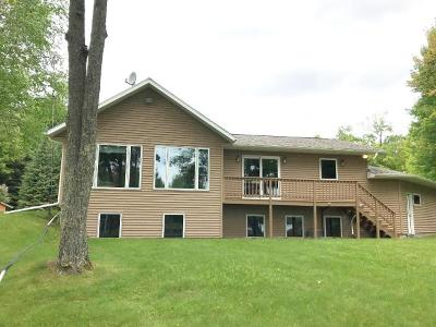 Langlade County, Forest County, Oneida County Single Family Home For Sale: 5556 Bertland Rd