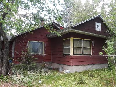 Langlade County, Forest County, Oneida County Single Family Home For Sale: 3936 Hwy 47