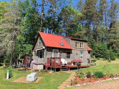 Forest County, Iron Wi County, Langlade County, Lincoln County, Oneida County, Vilas County Condo/Townhouse For Sale: 4503 Chain O Lakes Rd