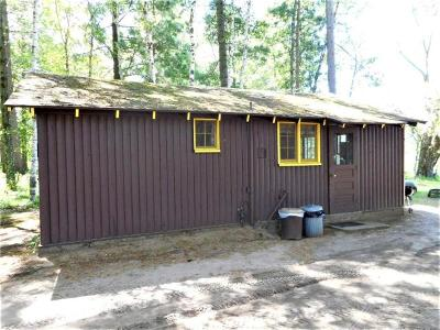Forest County, Iron Wi County, Langlade County, Lincoln County, Oneida County, Vilas County Condo/Townhouse For Sale: W6075 Duck Point Rd #Woodduck