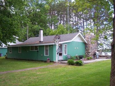 Langlade County, Forest County, Oneida County Single Family Home For Sale: 13580 Indian Point Rd