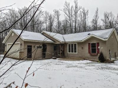 Prentice Single Family Home For Sale: W5820 Hwy 8