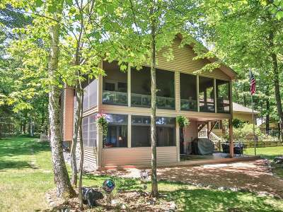 Eagle River Single Family Home For Sale: 2658 Pickerel Point Ln