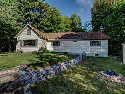 Langlade County, Forest County, Oneida County Single Family Home Active Under Contract: 7942 Cth D