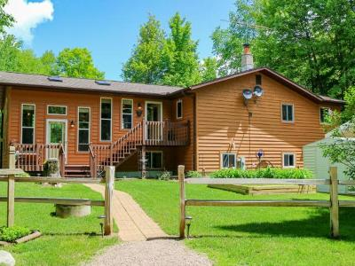 Langlade County, Forest County, Oneida County Single Family Home For Sale: W11206 Horseshoe Bend Rd