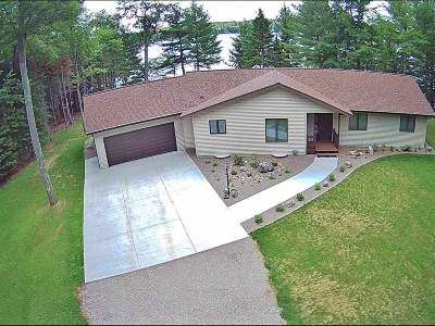 Lincoln County, Price County, Oneida County, Vilas County Single Family Home For Sale: 5442 Pine Lake Rd