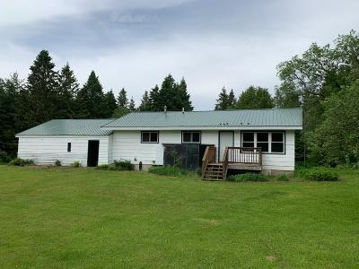 Tomahawk Single Family Home For Sale: W5275 Iverson Rd