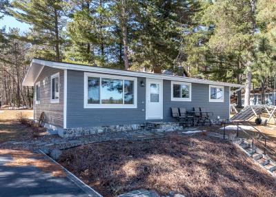 Minocqua Single Family Home Active Under Contract: 8438 Hower Rd