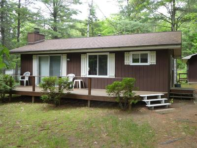 Minocqua Single Family Home For Sale: 9037 Arnold Stock Ln