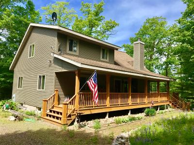 Lake Tomahawk Single Family Home For Sale: 9008 Finch Rd